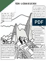 Ficha - Machu Picchu