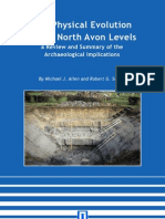 The Physical Evolution of the North Avon Levels
