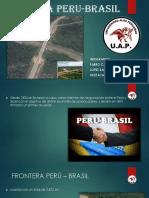 Frontera Peru Brasil diapositvas