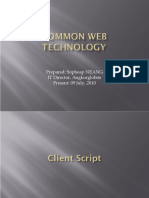 PHP & Common Web Technology