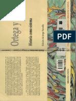 Ortega y Gasset Historia Como Sistema