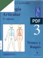 Kapandji 5 Edicion Tronco Raquis T3