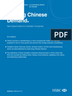 Shifting Chinese Demand