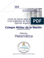 cuadernillo matemática