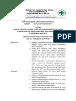 9.2.2.1.a Standar Dan Sop Layanan Klinis Bukti Monitoring Pelaksanaan Standar Dan Sop Hasil Monitoring Dan Tindak Lanjut