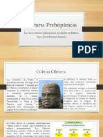 Culturas Prehispánicas.