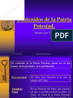 Contenidos de La Patria Potestad.