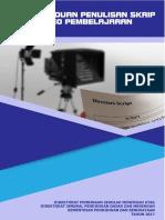 1. Panduan Penulisan Skrip Video Pembelajaran