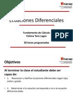 Ecuaciones Diferernciales Ordinarias