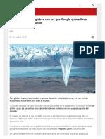 Proyecto Loon_ Los Globos Con Los Que Google Quiere Llevar Internet a Todo El Mundo - BBC Mundo