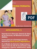Atencion Materno Perinatal s.i.v-2017