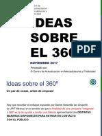 CAMP Campañas Integrales 2017 > Ideas sobre el 360