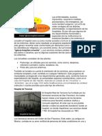 La Triada, Hospital de Terceros y Plantas Arquitecticas de Los Hospitales
