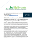 2017 Global Education Conference Information