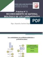 PRACT. 2 Carbohidrtos