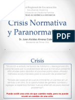 1.Crisis Normativa y Paranormativas