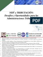 Expo NIIF y Tributacion - Administraciones Tributarias - Luis a. Chavez