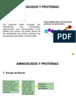Practica No. 6 Aminoacidos y Proteinas