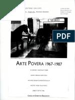 Arte povera 1967