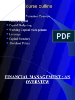 Chapter 1 Financial Management an Overview 1