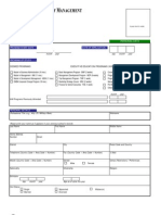AIM Admissions Application Form Revised May 16 2008