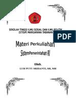 Materi Sistem Pemerintahan Ri