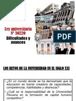 Ley Universitaria n