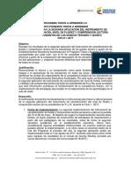 1. Instructivo Pioneros II Caracterización Nivel de Fluidez y Comprensión Lectora 3ro y 5to