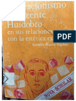 El Creacionismo de Vicente Huidobro en la estética cubista - Estrella Busto Odgen