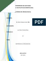 Historia de La Cirugia Bucal