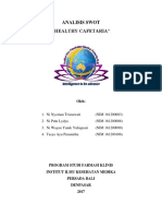 Analisis SWOT-healthy Cafetaria