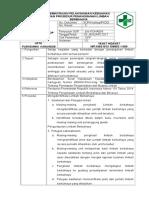 8511 SPO Pemantauan Pelaksanaan Kebijakan Penanganan Limbah