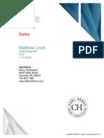 Sales Assessment