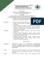 Sk Kewajiban Menjalankan Tertib Administrasi Dalam Penyelenggaraan Pelayanan Dan Administrasi Manajemen Docx