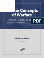 Iranian Concepts of Warfare