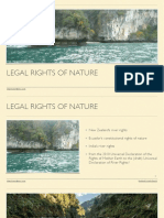 Legal Rights of Nature