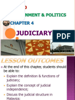 Chapter 4 - Judiciary