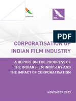 Corporatisation of Indian Film Industry