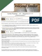 Cartas Paulinas 1