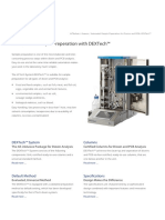 Automated Sample Preparation for Dioxins and Pcbs Dextechtm