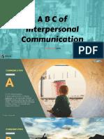 A to z of Communication