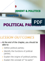 Chapter 5 - Political Parties