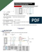 Diagrama Columna Rectangular