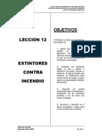 Pl-12 Extintores Contra Incendio
