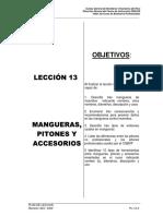 Pl-13 Mangueras, Pitones y Accesorios