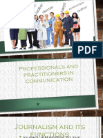 Communication Professionals APPLIED SOCSCI