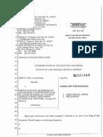 Cunningham Revised 2015 Complaint