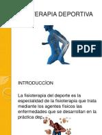 fisioterapia deportivaS presentacion