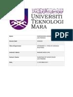 Lab Report CHM420