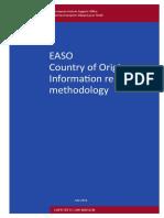 EASO COI Report Methodology
